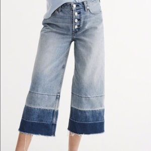 Abercrombie & Fitch High Waisted Stovepipe Jean